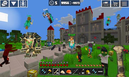 PlanetCraft: Block Craft Games MOD APK (Unlimited Money) 2