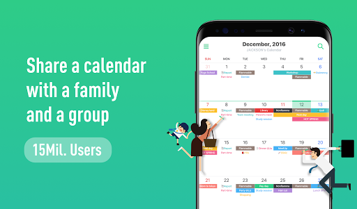 TimeTree - Free Shared Calendar 6.8.3 screenshots 1