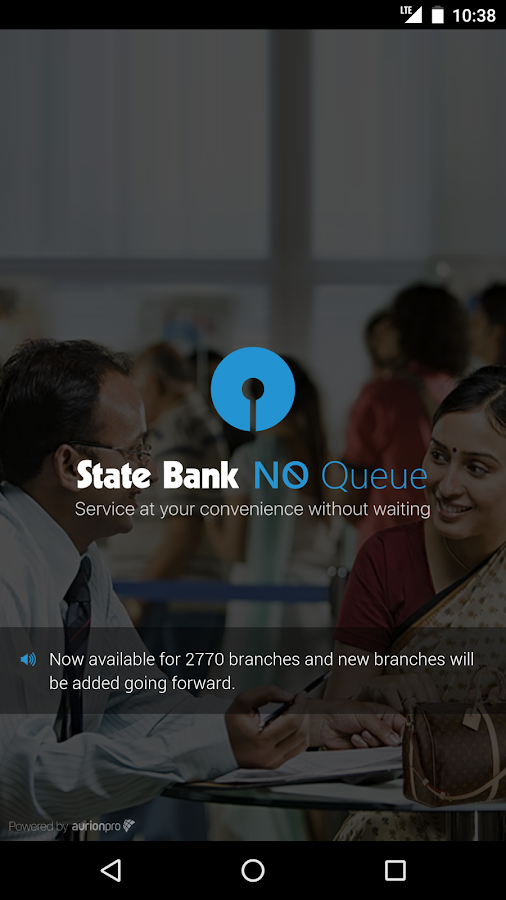 State Bank NoQueue- screenshot