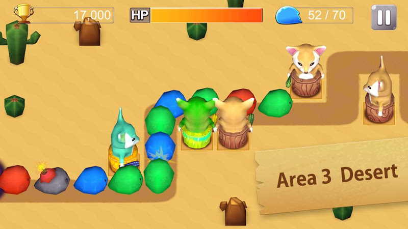 Скриншот Slime Pang(FREE)