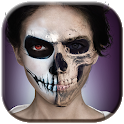 Halloween Skeleton Makeup Games For Girls icon