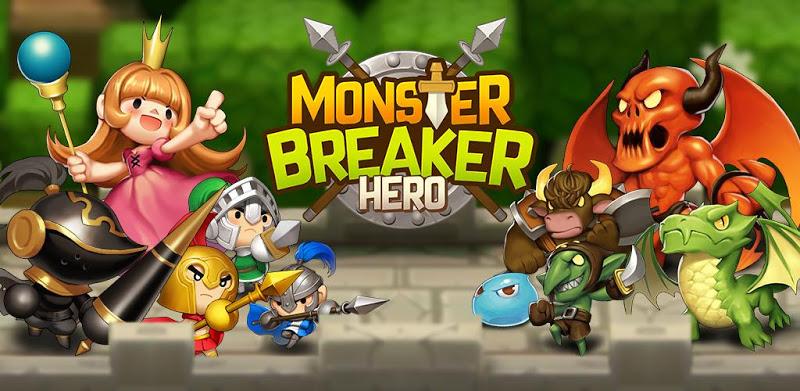 Monster Breaker Hero – APK MOD HACK – Dinheiro Infinito