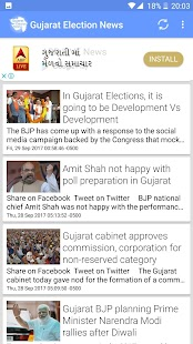 Gujarat Election 2017 - náhled