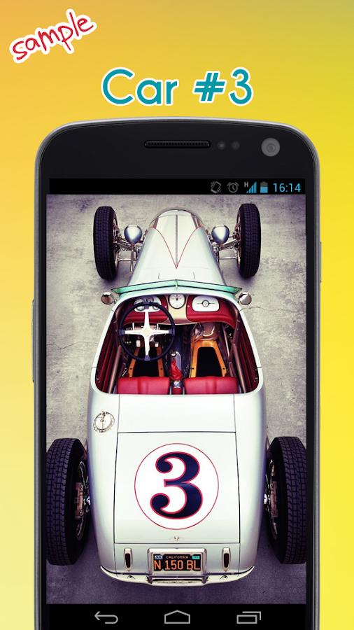 car wallpaper screenshot