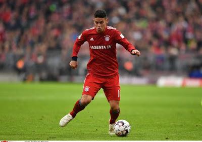 C'est assuré, James Rodriguez ne restera pas au Bayern
