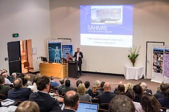 Photo: Prof Steve Wesselingh from SAHMRI http://www.med.monash.edu.au/cecs/events/2015-tr-symposium.html