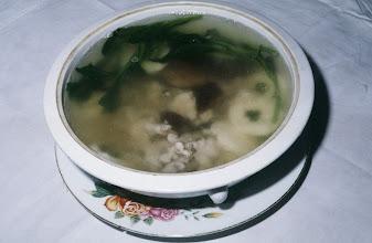 Photo: 04617 広州市/野味香飯店/料理/月影照哇魚/オオサンショウウオのスープ。シコシコした肉質。