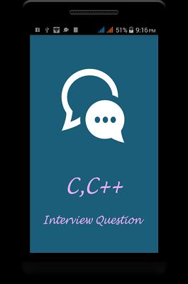 C,C++ Interview Questions - screenshot