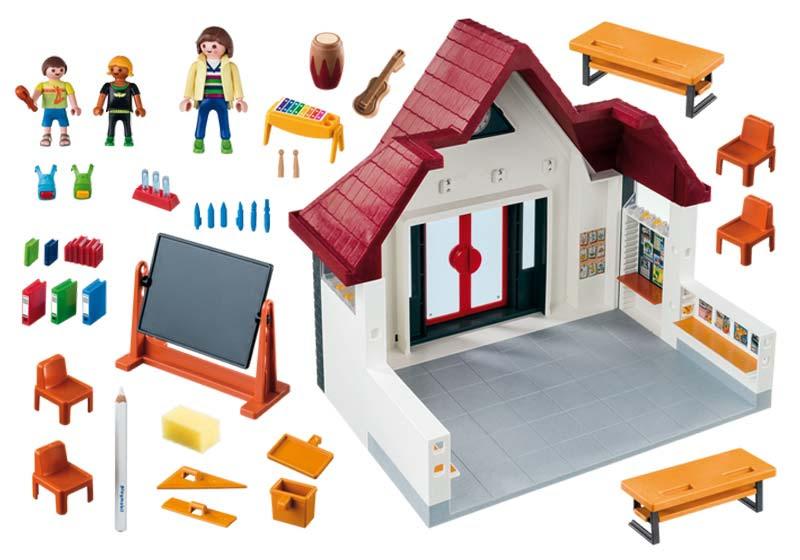 Contenido real de Playmobil® 6865 Colegio