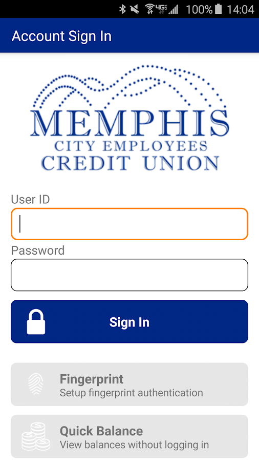 Memphis City Employees CU- screenshot