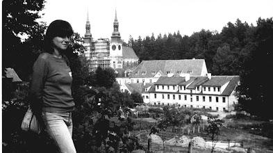 Photo: Święta Lipka 1986 Anielka i klasztor