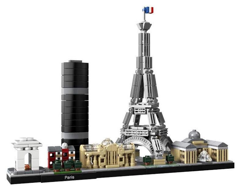 Contenido de Lego® 21044 París
