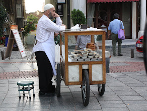 Photo: Day 122 - A Rice Pudding Seller