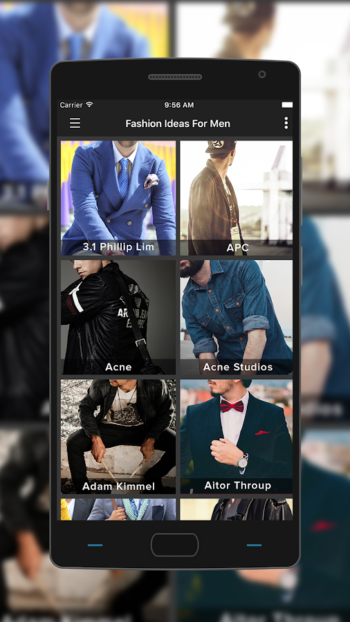 Fashion for Men- screenshot