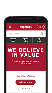 SuperValu- screenshot thumbnail