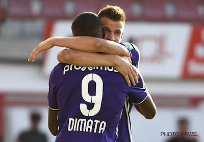 """Santini-Dimata, une association qui promet: """"C'est plus facile de jouer avec un attaquant de ce calibre à mes côtés"""""""