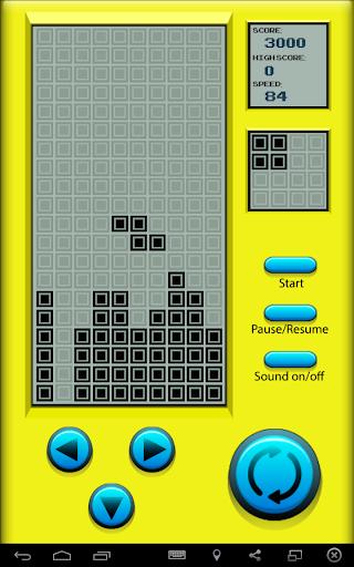 Retro Game Brick Blocks