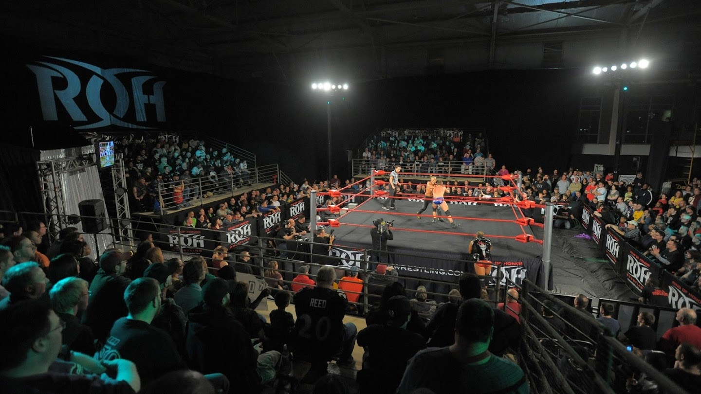 Watch Ring of Honor Wrestling live