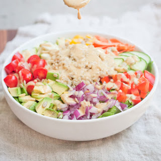 Curried Hummus Dressing