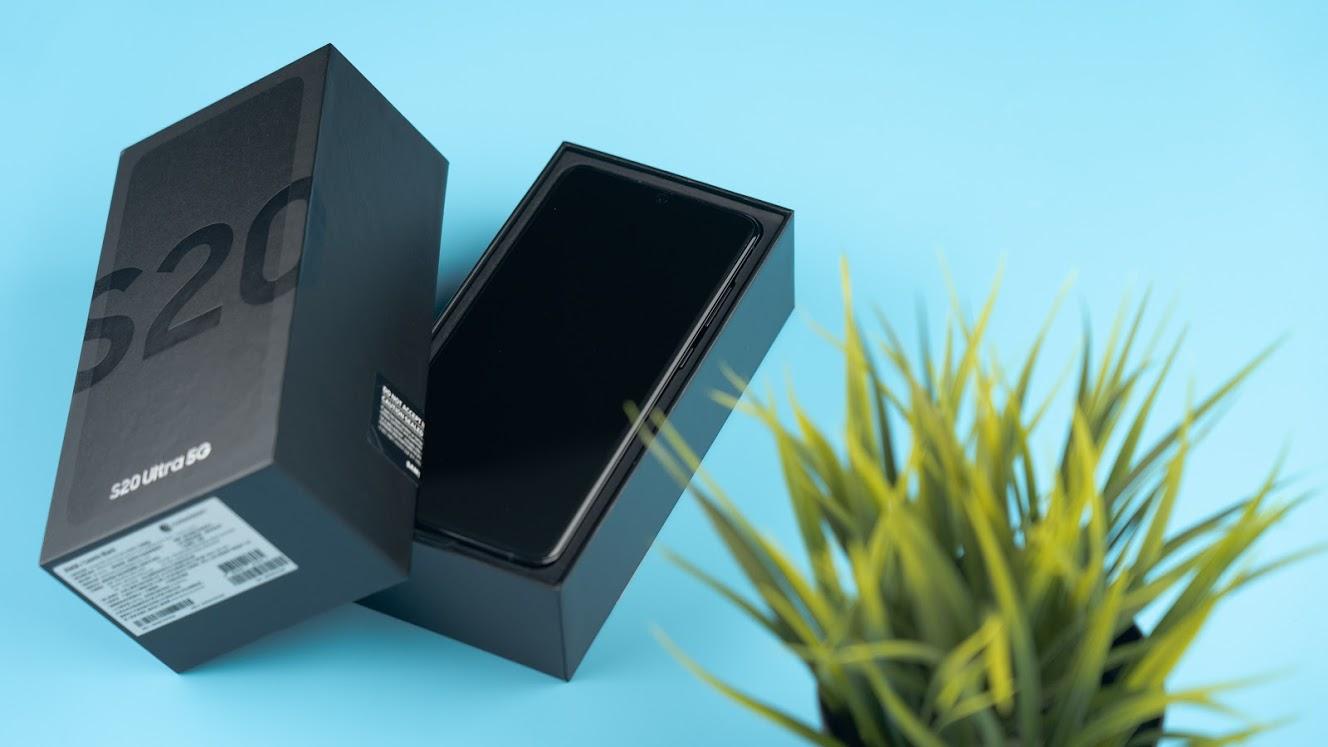 三星 Samsung Galaxy S20 Ultra 5G 開箱評測