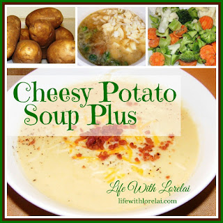 Cheesy Potato Soup PLUS