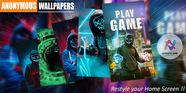 😈Anonymous Wallpapers HD😈 Hackers Wallpapers 4K Apk Download For Android 10