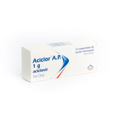 Aciclovir Aciclor 1 g x 10 Comprimidos A.P.