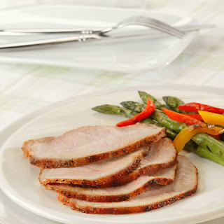 Rubbed and Grilled Pork Loin Recipe