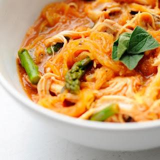 Creamy Spaghetti Squash….