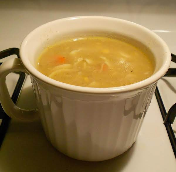 Hot And Hearty Chicken Noodle Soup