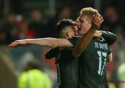 Met een goal en een assist loodst De Bruyne City voorbij Bristol
