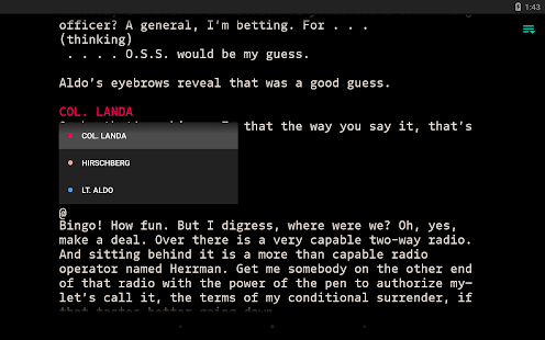 JotterPad - Writer, Screenplay & Novel Screenshot