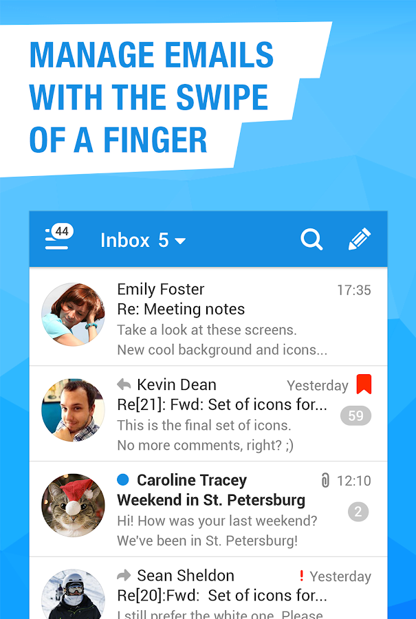 Mail.Ru - Email App- screenshot