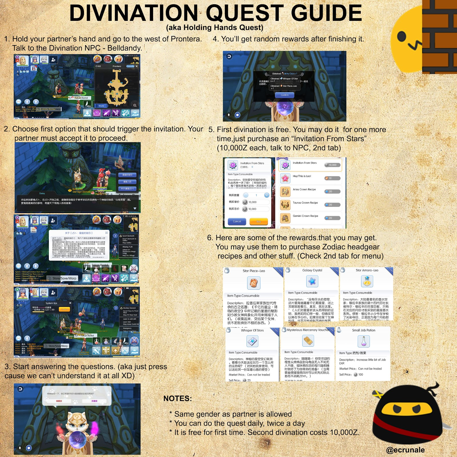 ROM Guide Compilation