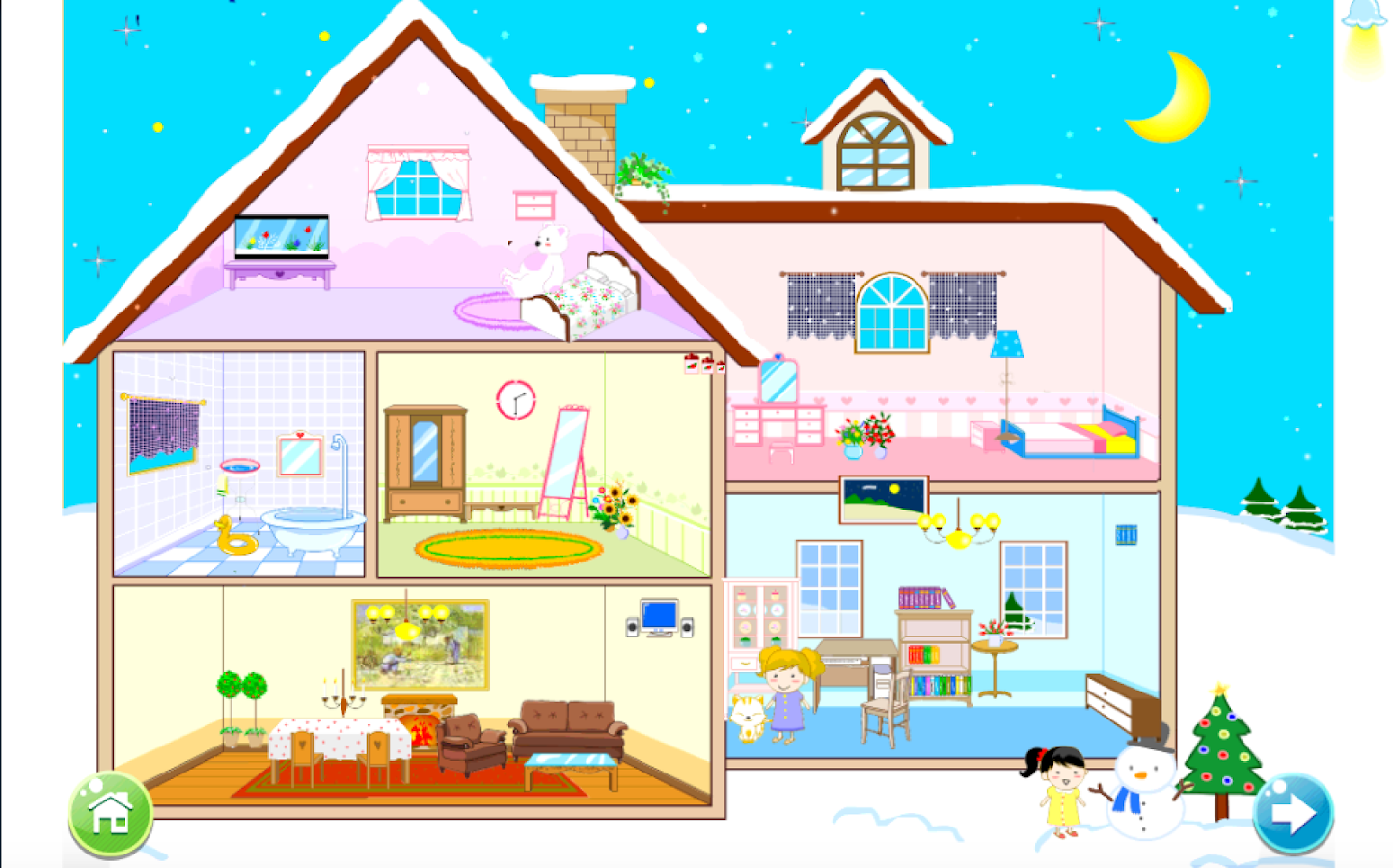 Doll house decoration games android apps on google play Free home decorating games