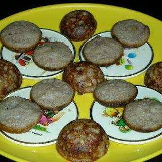 Ragi Kuzhi Paniyaram/spicy Finger Millet Balls