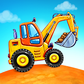 Truck games for kids - build a house ?? car wash Icon