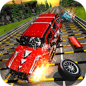 Speed Bump Car Crash Simulator: Beam Damage Drive