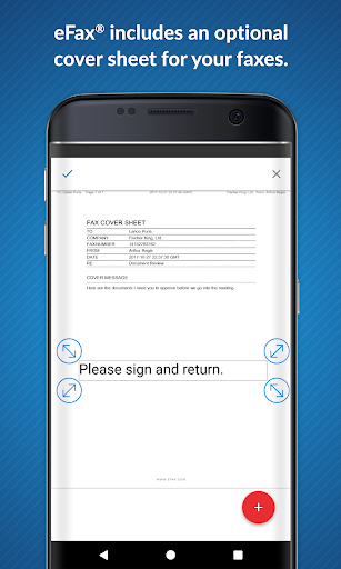 eFax – Send Fax From Phone screenshot