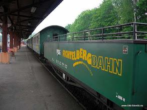 Photo: Cranzahl. Fichtelbergbahn.