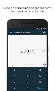 MobilePay Business - náhled