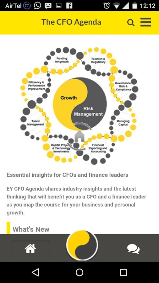 Ey Cfo Agenda - Android Apps On Google Play