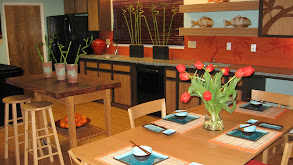 Asian-Inspired Kitchen With Eco-Friendly Materials thumbnail