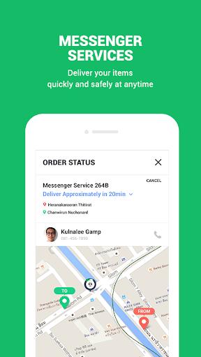 LINE MAN: Taxi, Food, Postal Apk apps 5
