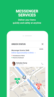 App LINE MAN: Taxi, Food, Postal APK for Windows Phone