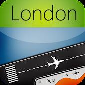 Heathrow Airport +Flight Track