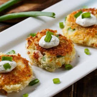 Mashed Potato Croquettes.