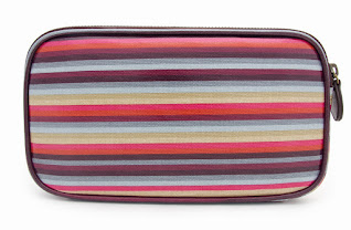 Stripe Mainline Makeup Bag