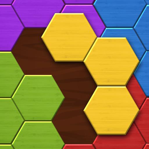 Hexa Wood Puzzle Icon