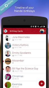 Free Birthday Cards - náhled